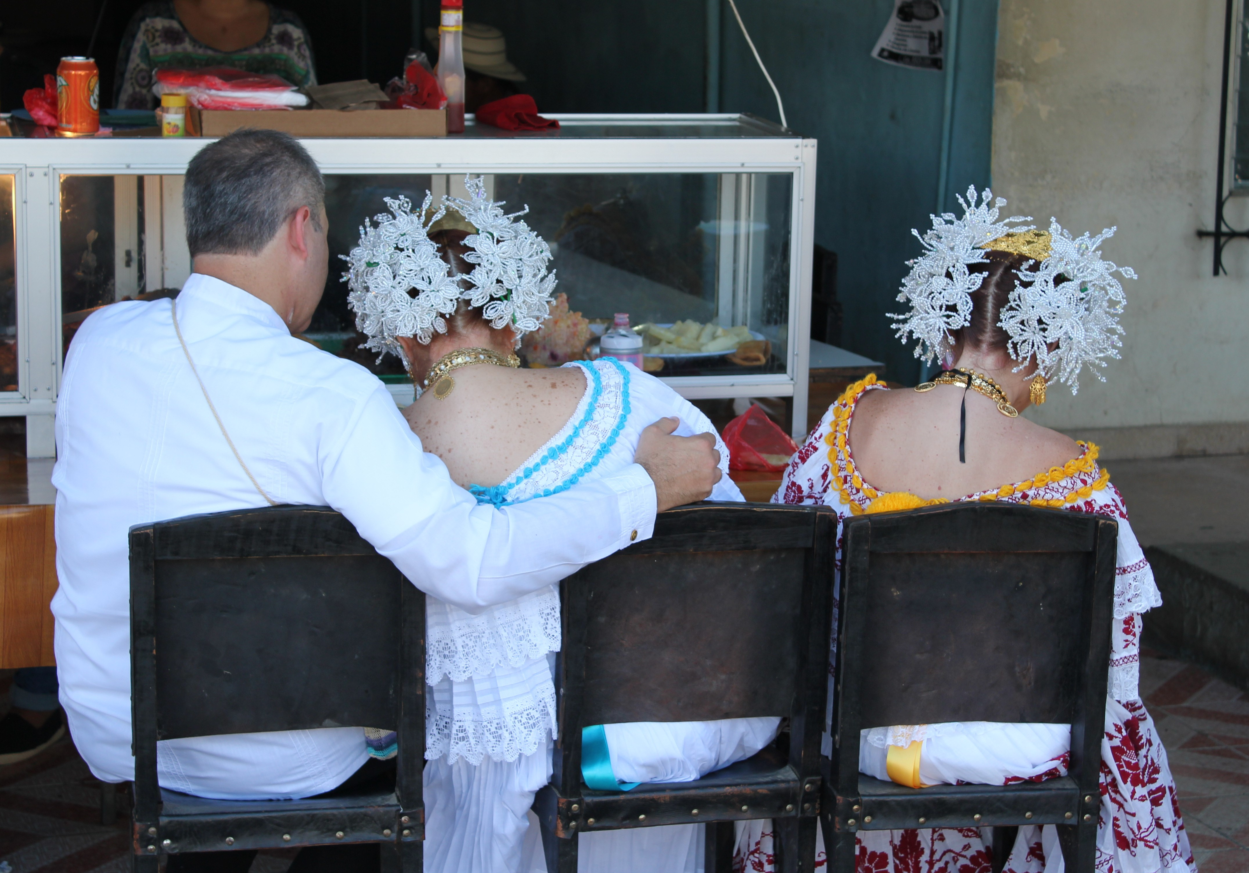 pooped-after-pollera-parade A Panama Road Trip Panama Panama Fairs and Festivals