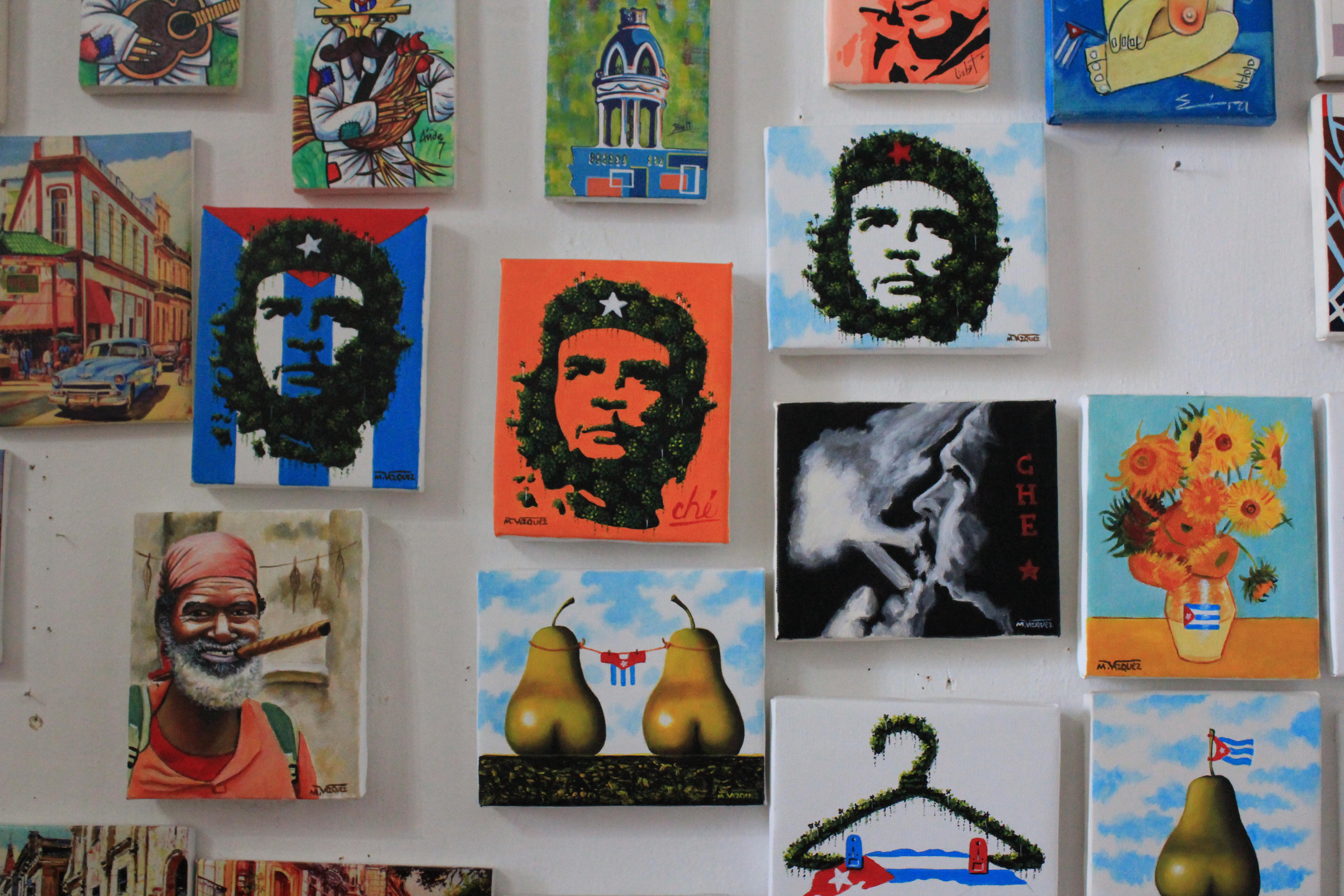 Cienfuegos-Art-2 A Cuban Road Trip, Part 1 - Cienfuegos Cienfuegos Cuba