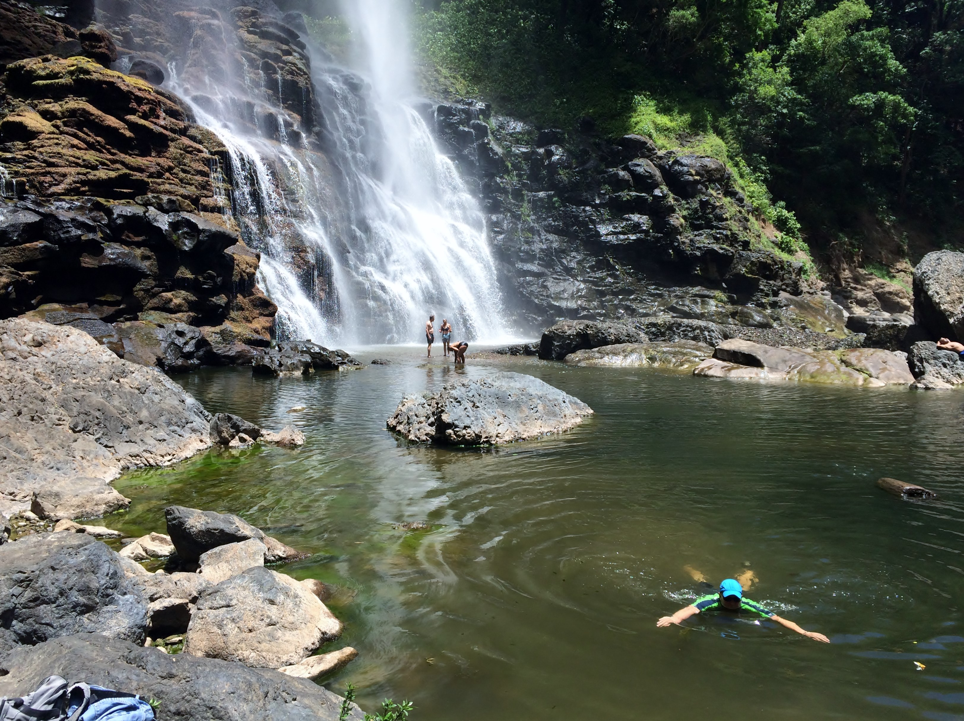 KiKi-Falls-swimming The Waterfalls Just Keep Getting Better . . . Panama The Great Outdoors