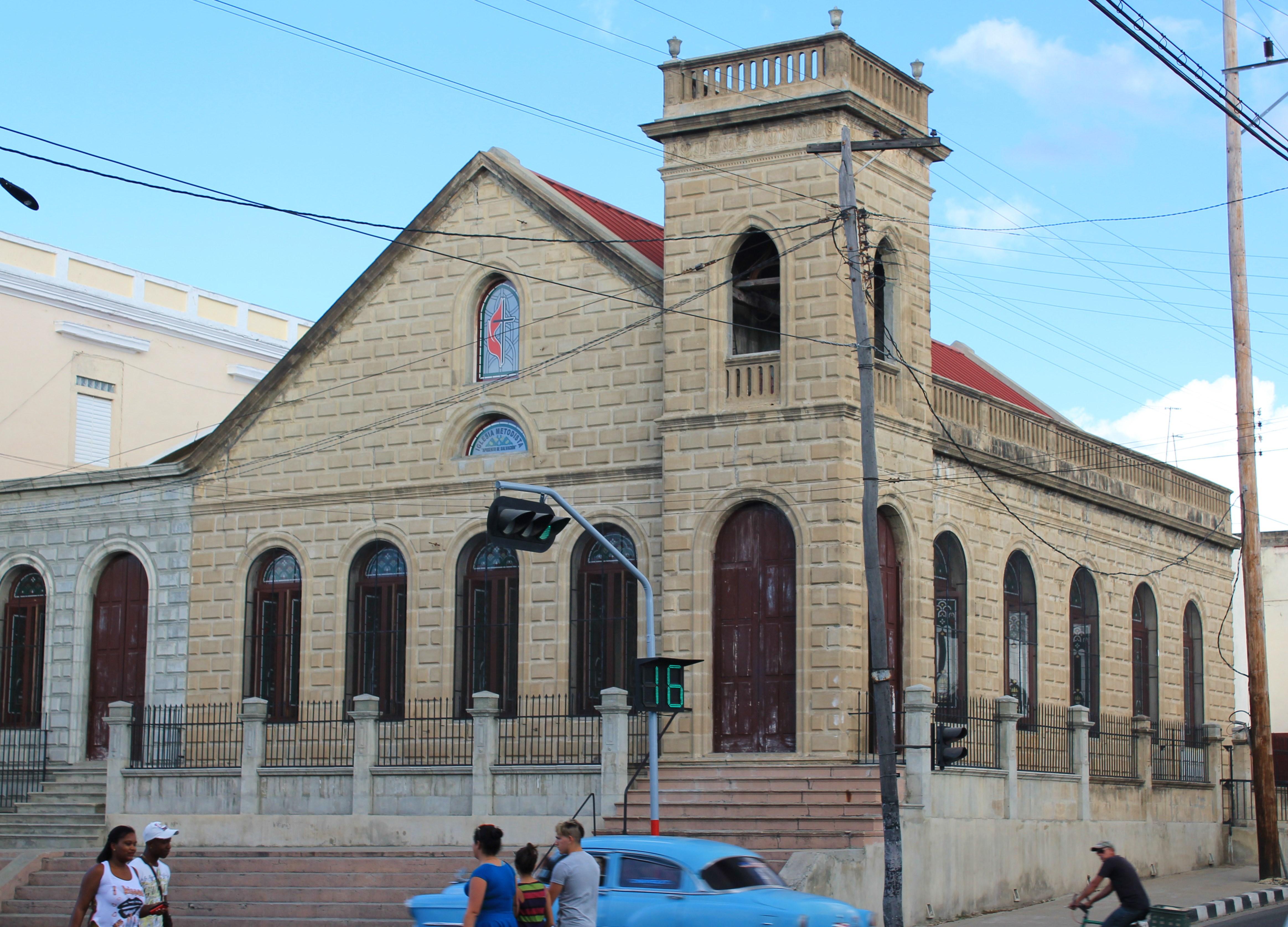 Methodist-Church-Cienfuegos A Cuban Road Trip, Part 1 - Cienfuegos Cienfuegos Cuba