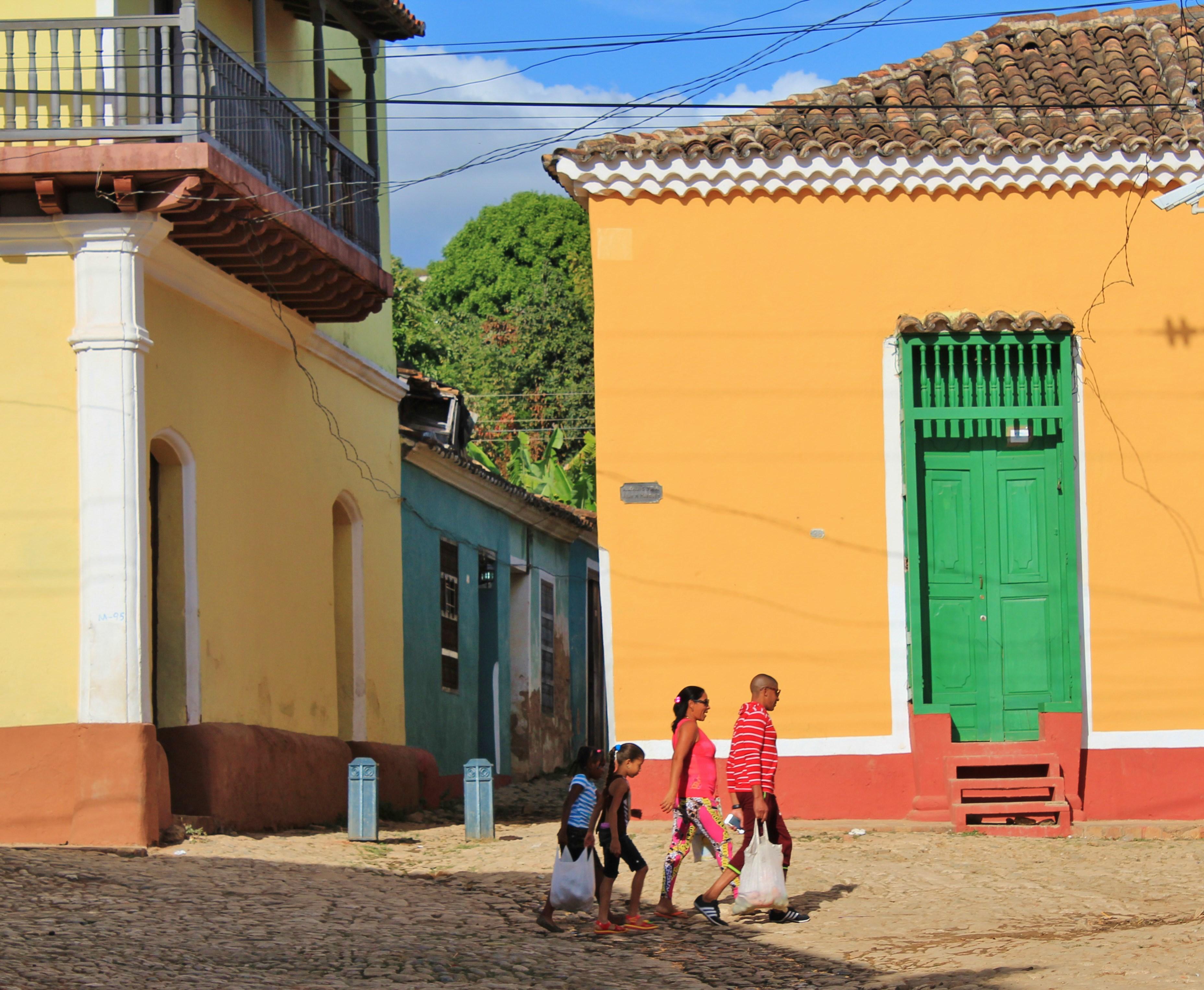 Walking-Family-Trinidad A Cuban Road Trip, Part 2 - Trinidad Cuba Trinidad