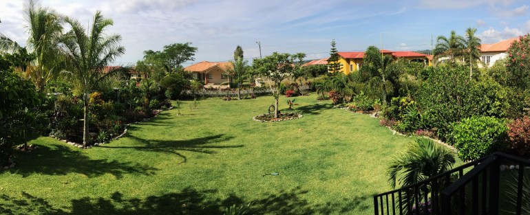 garden-pano In Boquete, our Garden of Eden . . . Panama The Expat Life The Great Outdoors