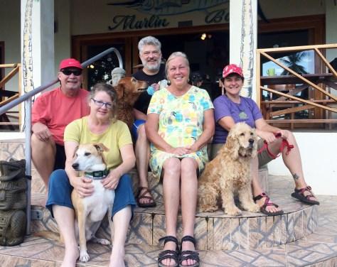 Hooked-on-Panama-Group Doggy Bliss at Hooked on Panama Panama Pets