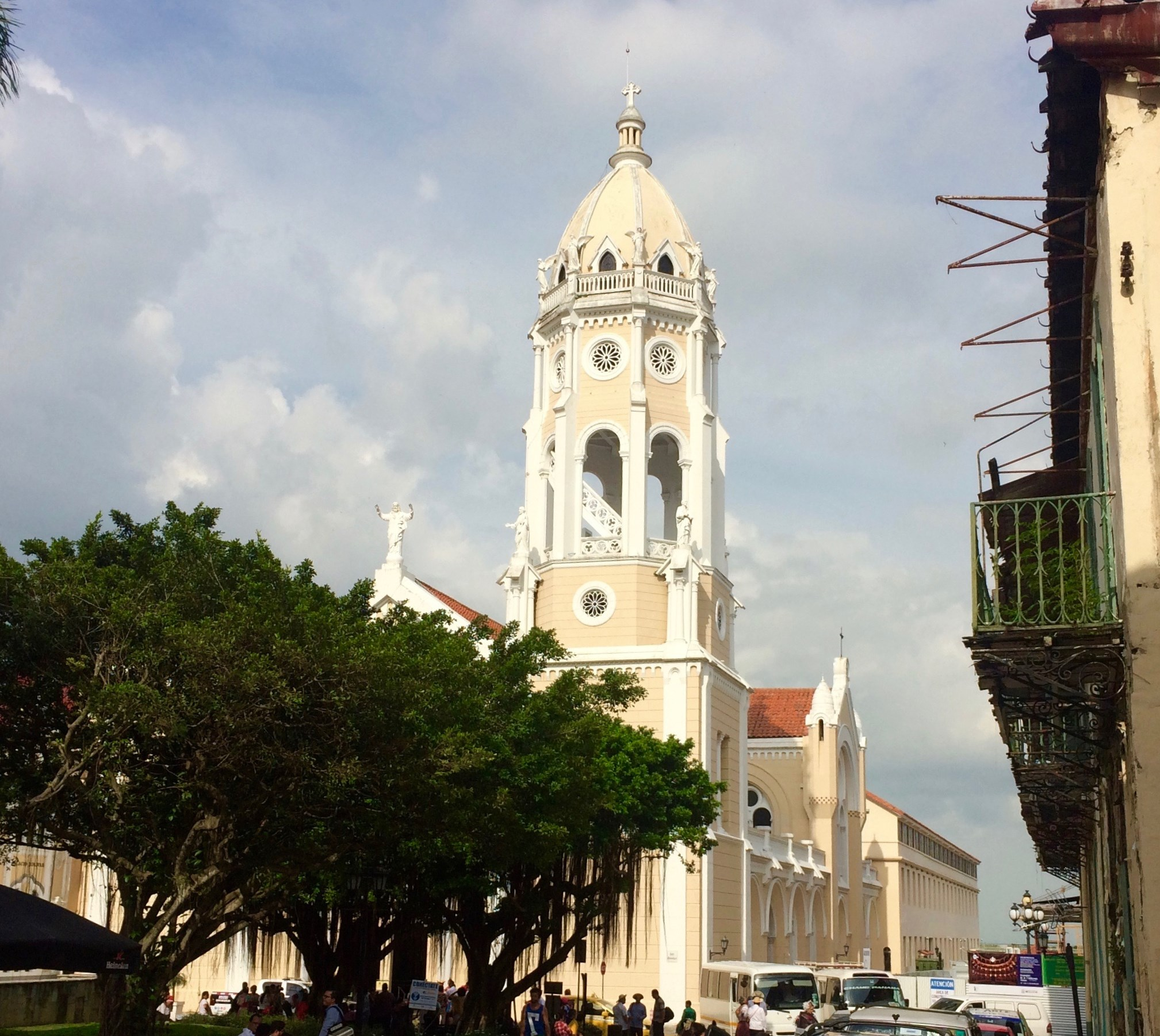 Casco-Viejo-Parque-Balboa-Church-2017 Discovering Casco Viejo, Panama Panama Panama City