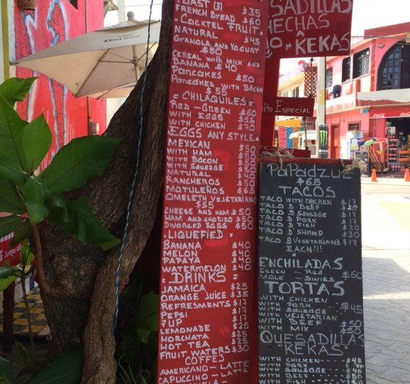 Isla-Mujeres-Street-Cafe-Menu-1024x959 Is going back a good idea? Sometimes! Mexico