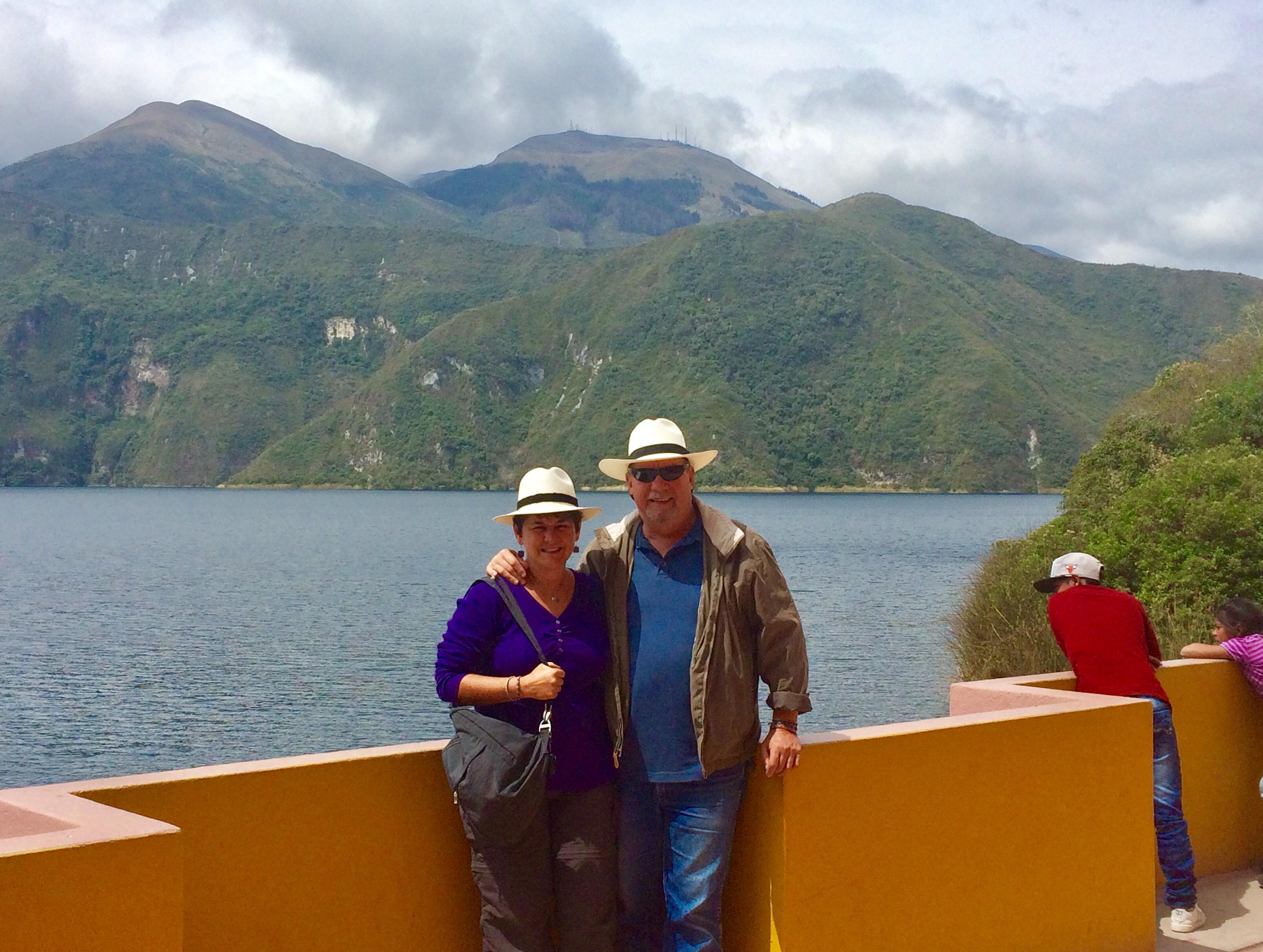 "Lago-Cuicocha ""Panama"" Hats and Hot Springs: Two Day/Overnight Trips Out of Quito, Ecuador Ecuador"