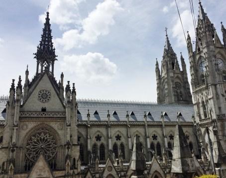 Basilica-Quito-exterior-1 FOUR DAYS IN QUITO, ECUADOR: Part II Ecuador Quito