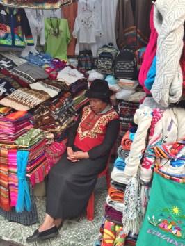 Indian-woman-mercado FOUR DAYS IN QUITO, ECUADOR: Part II Ecuador Quito