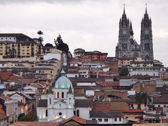 Quito-Basilica-Skyline FOUR DAYS IN QUITO, ECUADOR: Part II Ecuador Quito