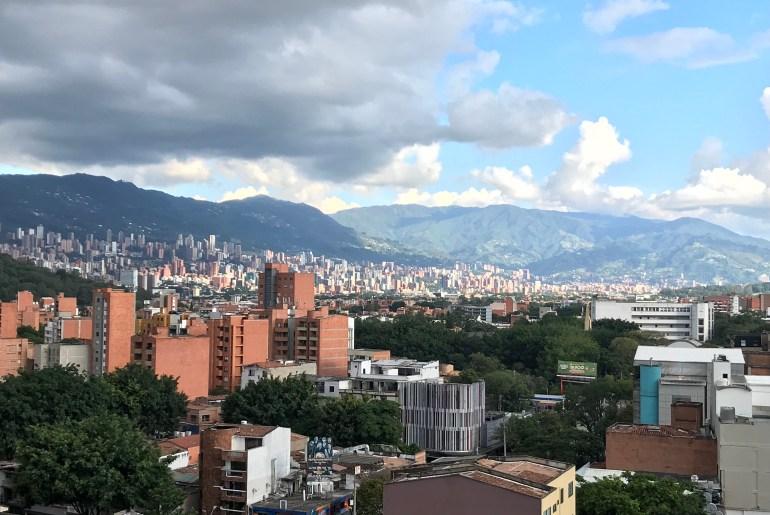 Medellín skyline
