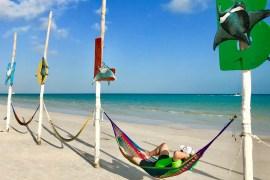Isla Holbox Beach Hammock