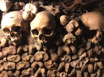 catacombs Four Days in Paris France Paris