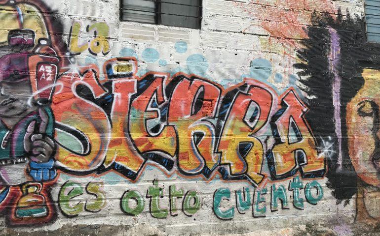 street art in Barrio La Sierra