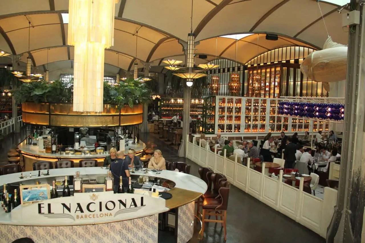 El Nacional: A Classy, Gourmet Multi-Space Restaurant