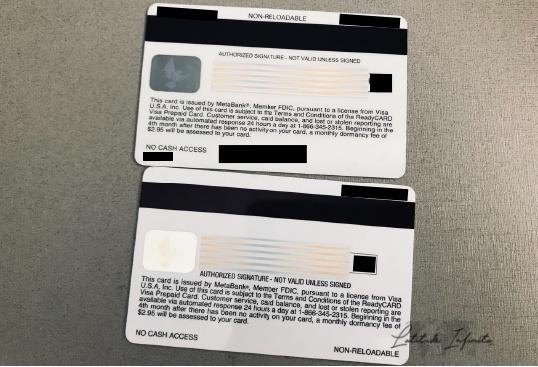 cartão pré-pago de viagem