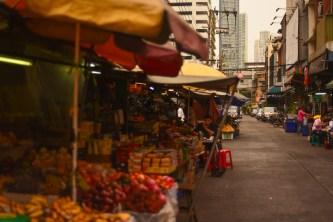 Bang Rak fruit market