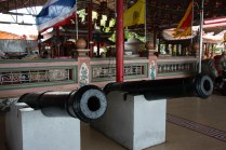 Cannons at a temple ?