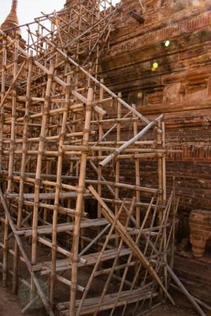 Myanmar scaffolding