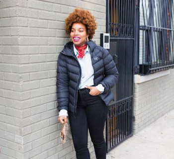 2 Ways To Dress Up A Puffer Coat