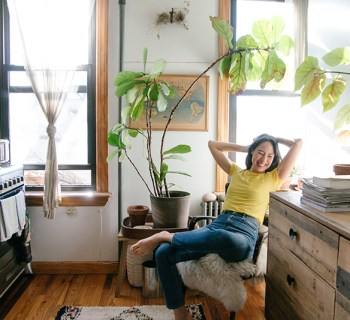 A Window In: Lisa Przystup Apartment Tour