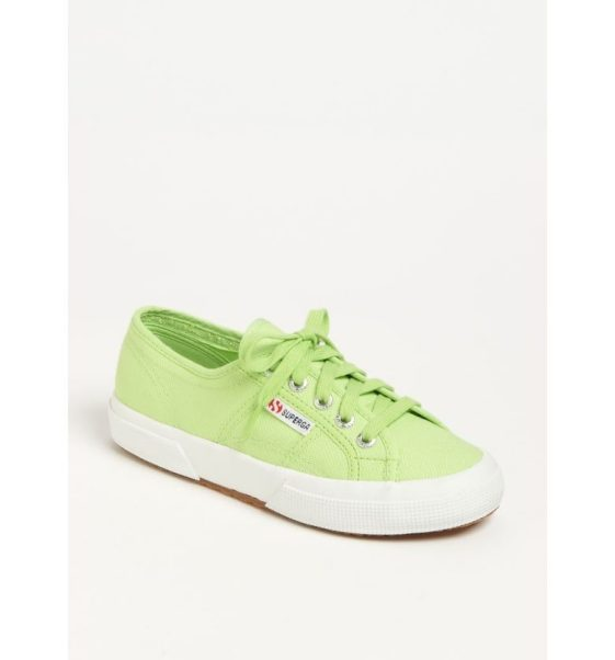 Green Superga's