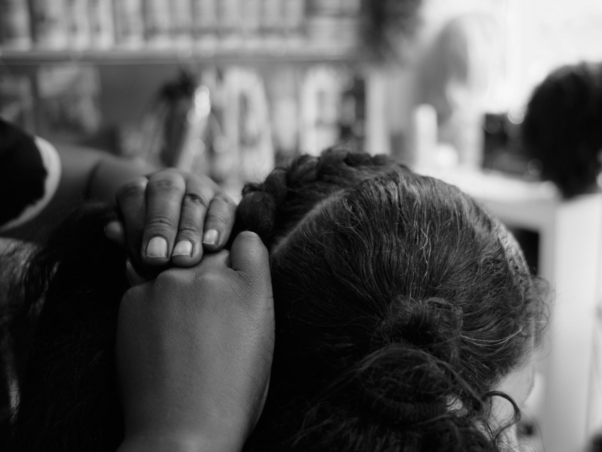A Day At The Salon: The Art Of Faith by Katherine Duvigneau