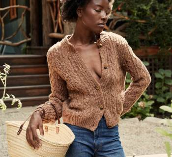 An Ode To Cozy Sweaters On Chilly Work Days
