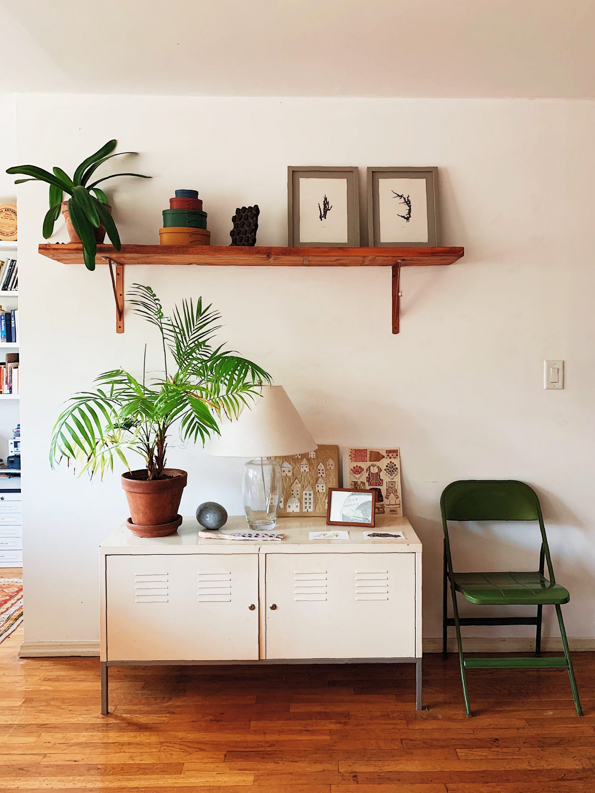 A Window In: Claire and Ali's Artistic Apartment