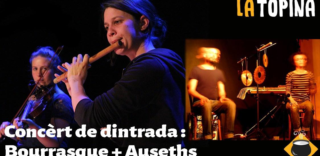 Bourrasque e Auseths - concert