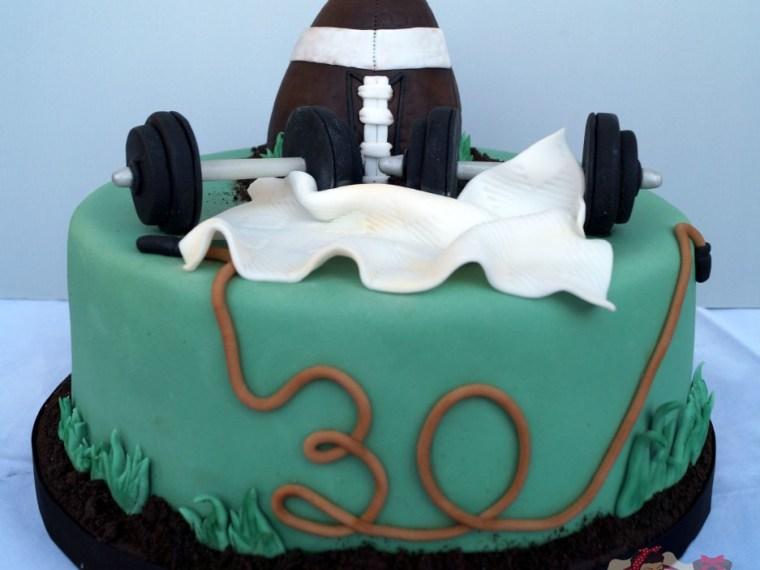 Sportler-Torte