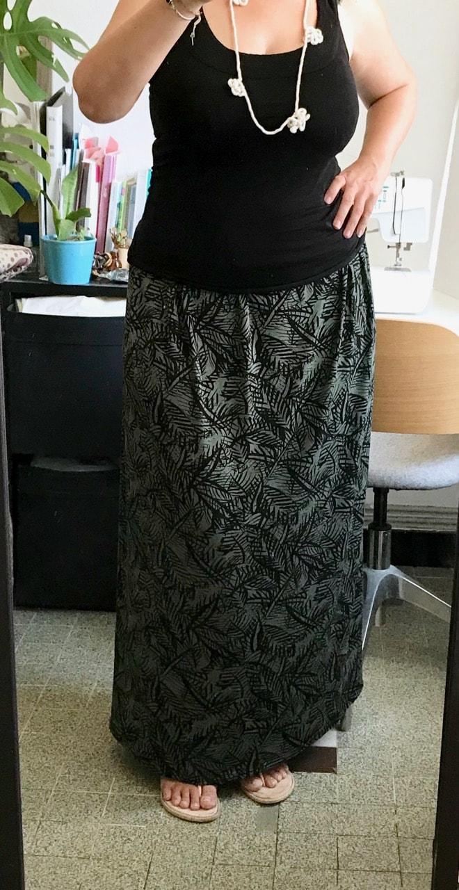 Tutoriel de la jupe longue en 1h30