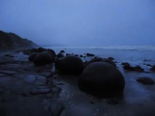 Moeraki bulders