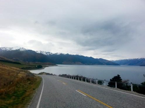 Carreteras solitarias y nosotros sin gasolina!