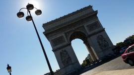 París. Arco del Triunfo.