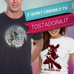 t- shirt e magliette cinema e tv tostadora.it