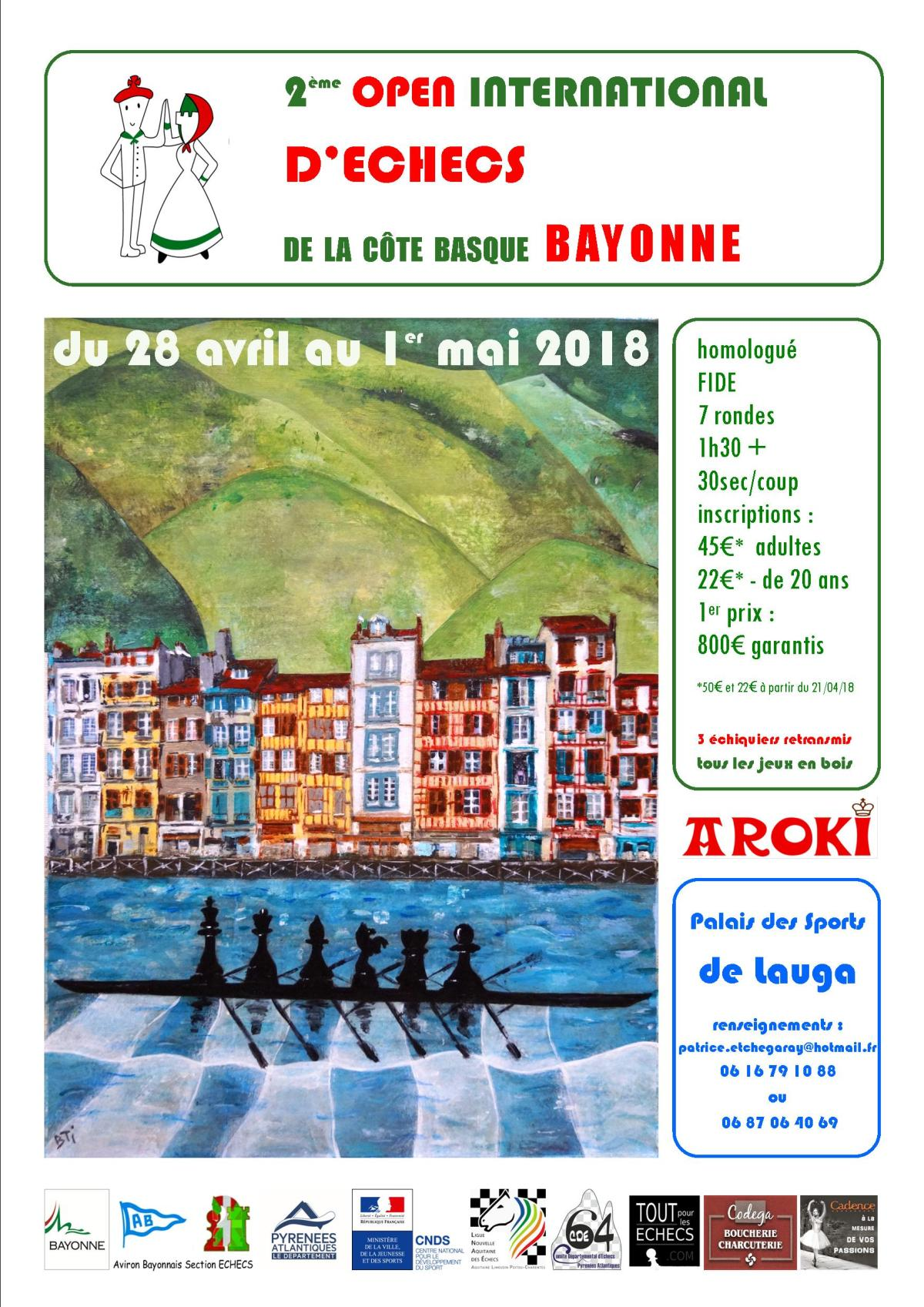2 ° OPEN COTE BASQUE