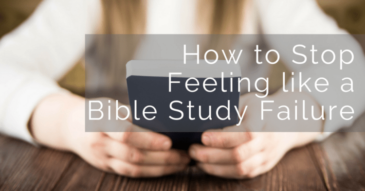 When you fall behind in your Bible study it can be tempting to quit. Here are some other ideas to help you get back on track.