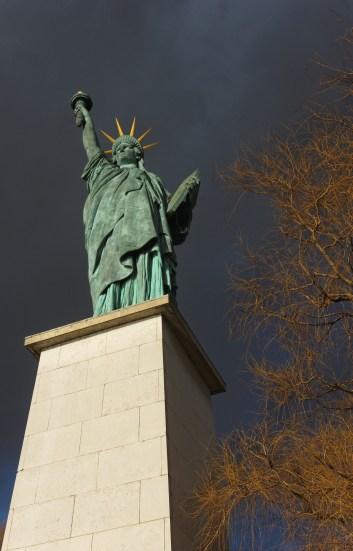 statue de la Liberté Allée aux Cygne Paris 15e