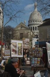 place du Tertre Montmartre Paris 18e