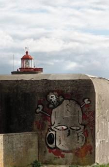 tag phare du Peti Minou, Brest