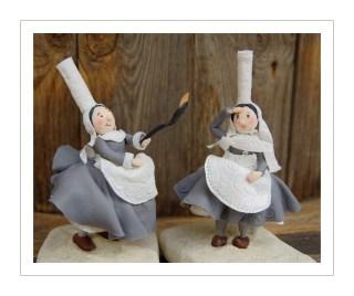 bretonnes en porcelaine froide