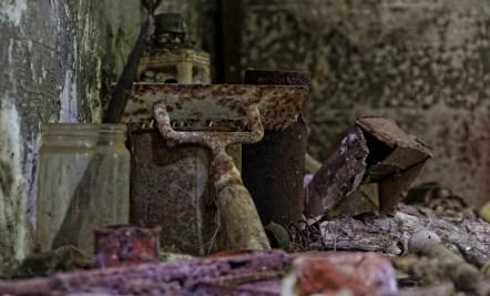 domaine des 3 colonnes, détails outils atelier