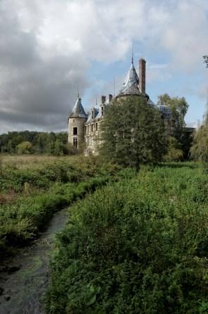 vue arrière château Popkov