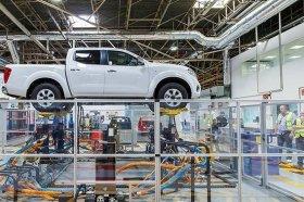Archivo. Interior de la planta de Nissan Barcelona.