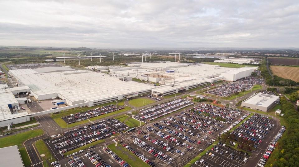 Fábrica de Nissan en Sunderland (Reino Unido).