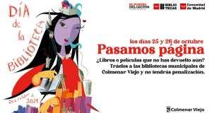 Día de la Biblioteca en Colmenar Viejo