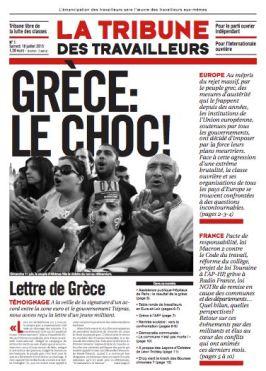 TT n°1, un journal d'informations ouvrières en France et dans le monde.