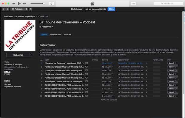 podcast itunes