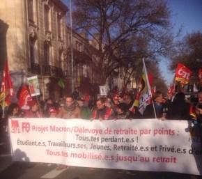 A Bordeaux, le 5 décembre.