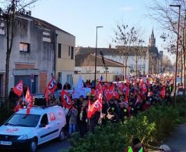 3 000 manifestants à Agen